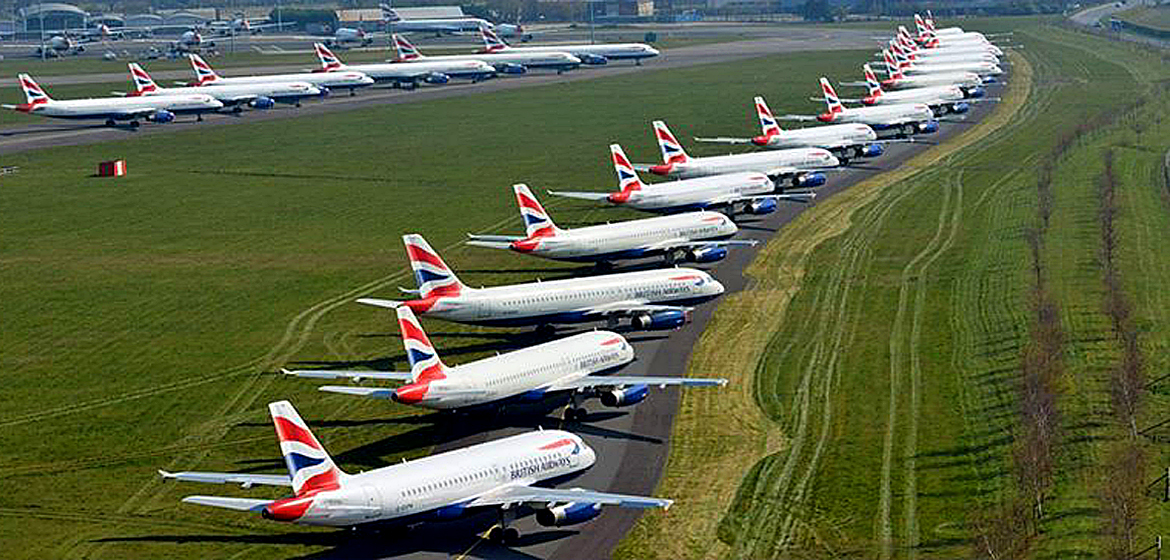 What's happened to the world's fleet of aircraft?
