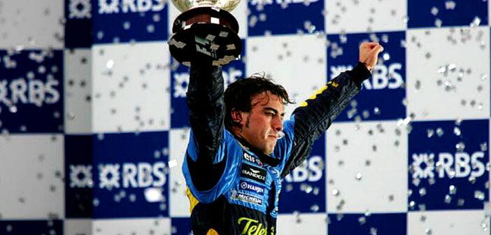Fernando Alonso joins Renault Team.