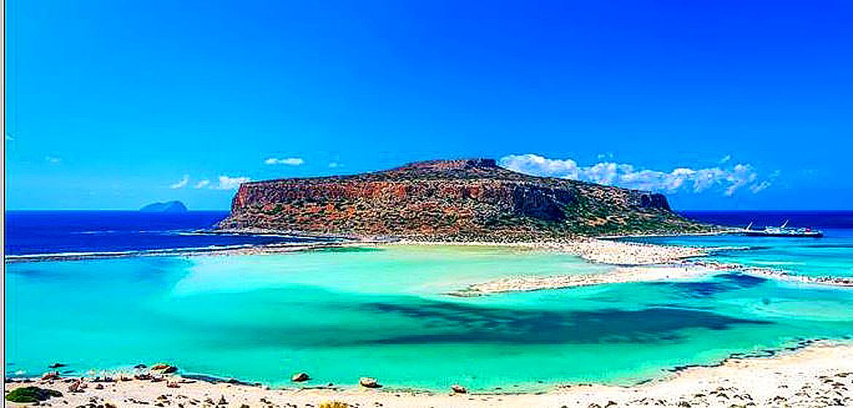 Crete becalmed, the island feels like 1970s.