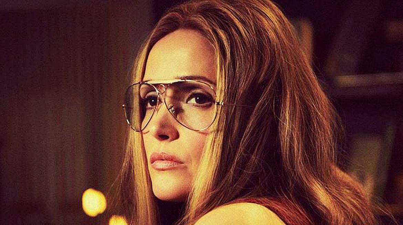 Gloria Steinem 's aviator glasses.