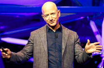 Jeff Bezos, Amazon founder, 56, has seen his fortune rise from $74 billion at the start of the year to $189.3 billion today. Image Credit: Saul Loeb / AFP Agence Frace Presse, via Getty Images, 2020.