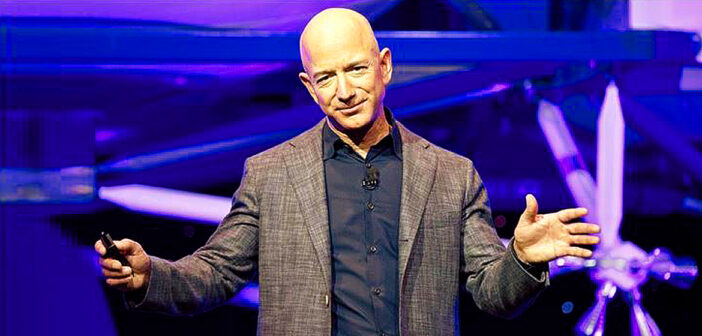 Jeff Bezos increases wealth in one day.