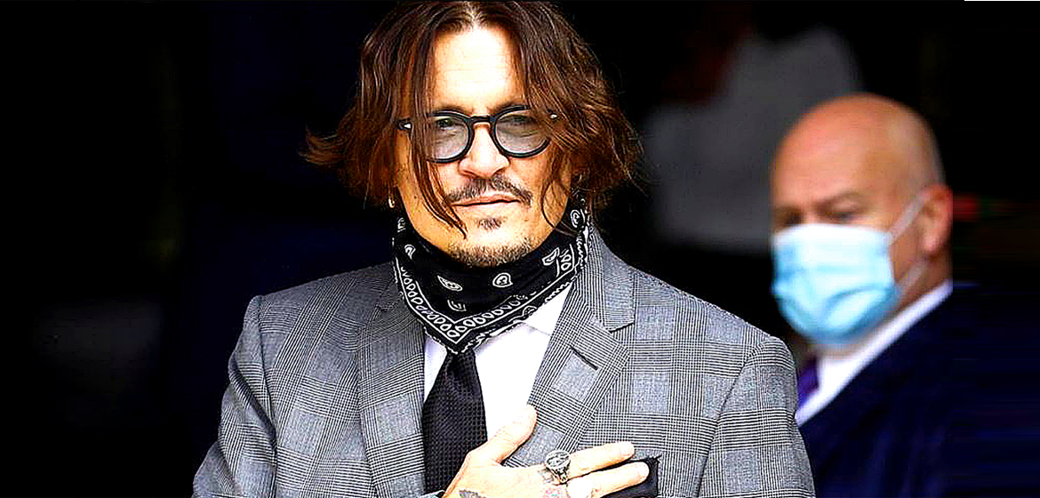 Johnny Depp discovered he had lost £500m.