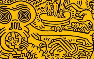 Keith Haring's Nightmarish Vision. Fear, Beauty and Keith Haring's Apocalyptic Nightmare.. Image Credit: MutualArt, 2020.