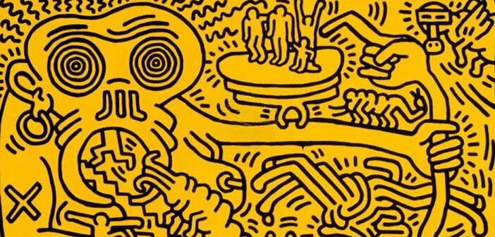 Keith Haring's Nightmarish Vision.