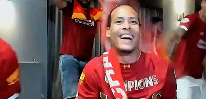 Liverpool finally crowned champions.