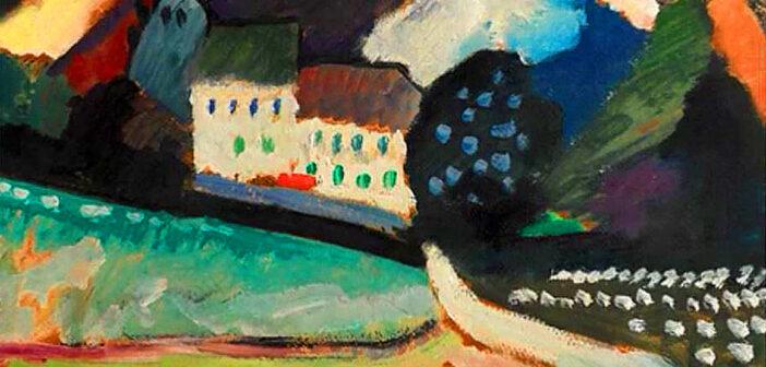 The power of Kandinsky's trascendental Art.