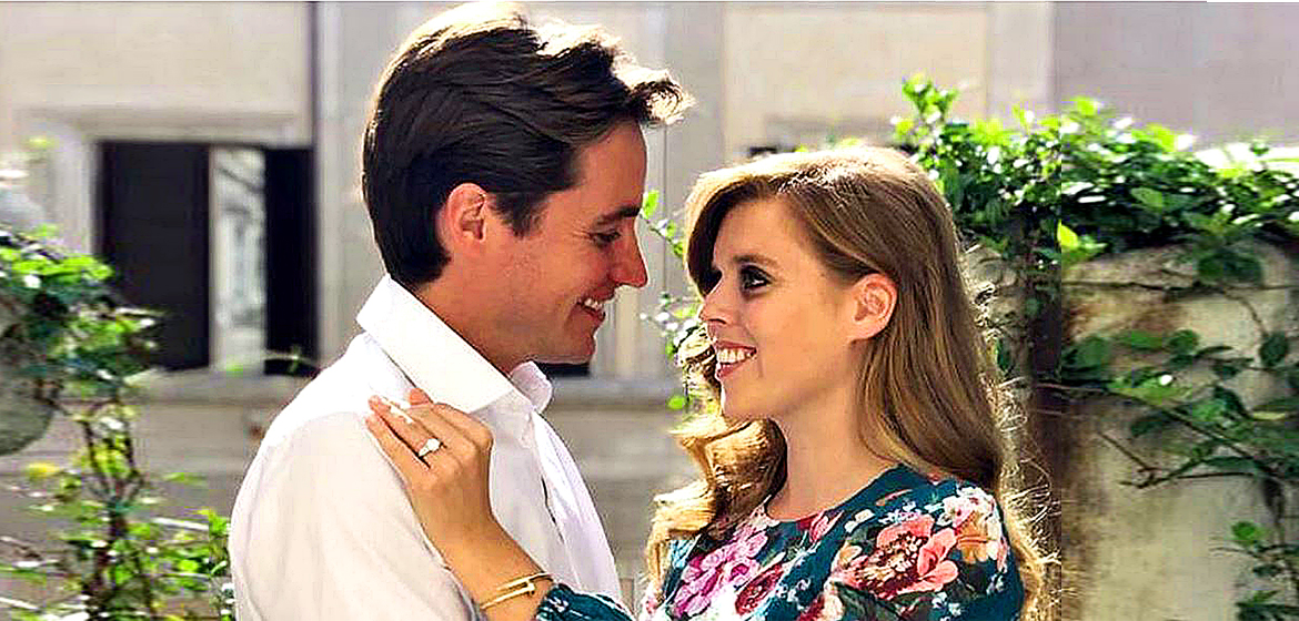 Princess Beatrice marry in secret at Windsor.