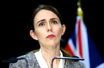 Auckland to lock down as cases are found.. Jacinda Ardern had centred her election campaign launch around the government's success in tackling the virus. Image Credit: Hagen Hopkins / Getty Images, 2020.