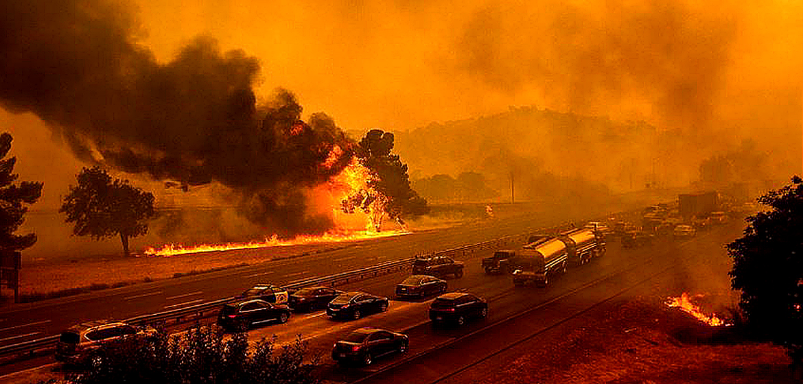 Apocalyptic August in California.