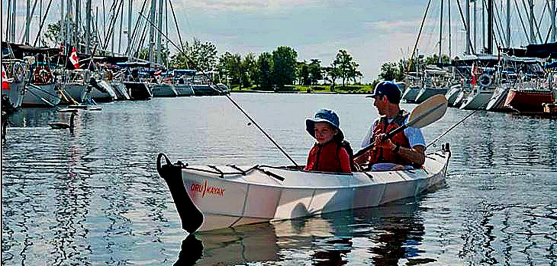 Haven Tandem folding kayak review.