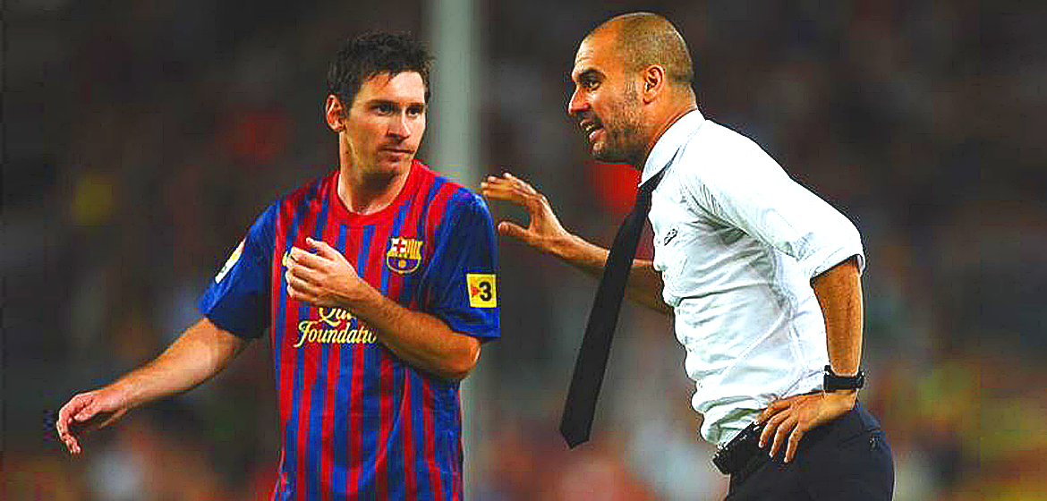 Barcelona reeling from the blow.