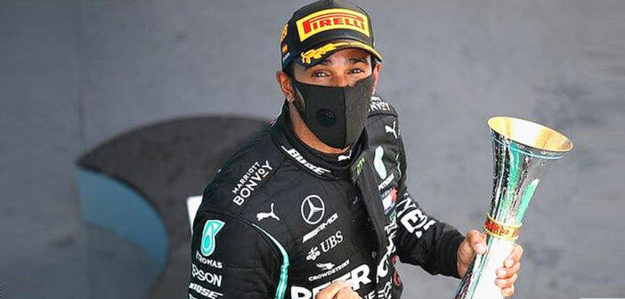 Lewis Hamilton touches perfection.