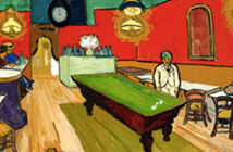 The Hahnloser Collection at Albertina. shows Van Gogh, Cézanne, Matisse and Hodler Image: Vincent Van Gogh, The Night Cafe in Arles, 1888, private collection. 2020.