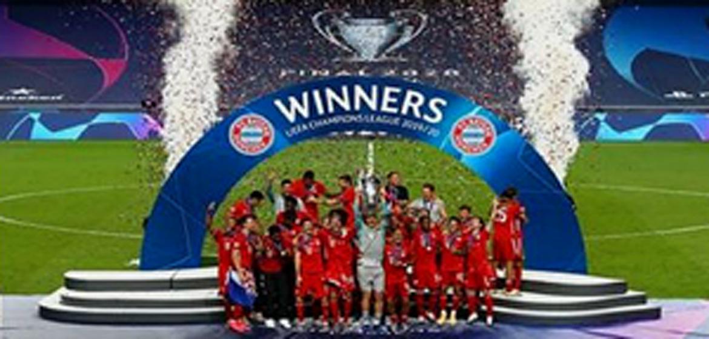 Bayern Munich won their sixth European Title.
