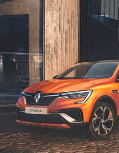 The new Renault Arkana, the Hybrid SUV Coupe. Very good news for fans: Renault Arkana is coming to Europe! Image Credit: Renault Press, 2020.