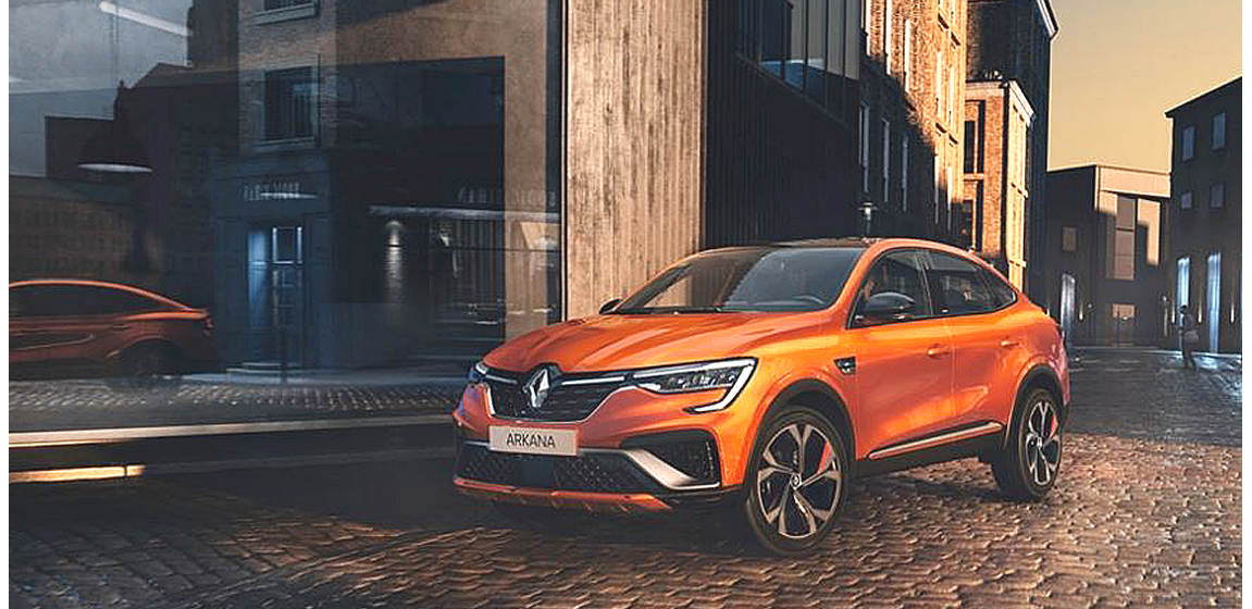 The new Renault Arkana soon in Europe.