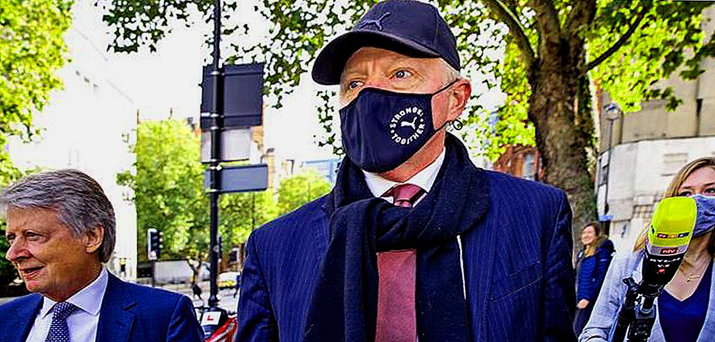 Boris Becker accused of hiding £1 million.