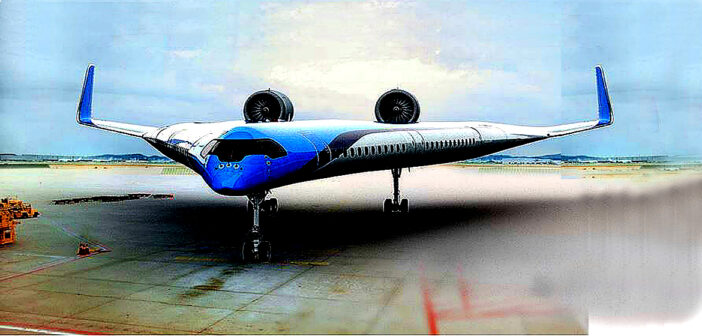 A new plane for the future.