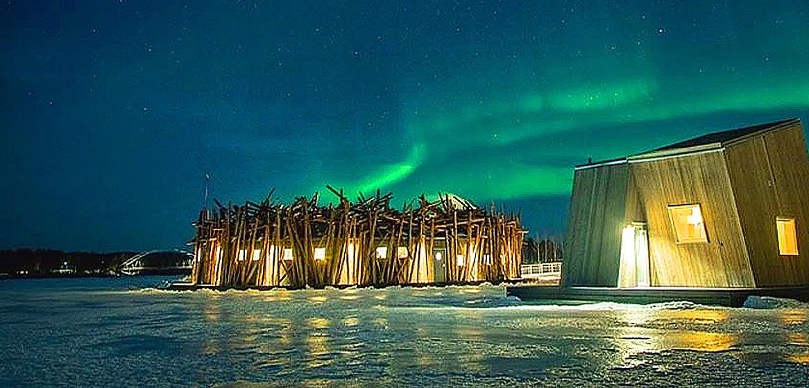 A look inside Sweden's new floating hotel.