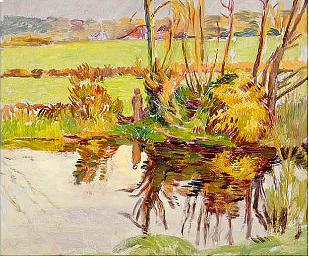Impressionist & Modern Art at Sotheby's.. Duncan Grant - Le Fond at Charleston - Property from Private Collection, USA. Image Credit: Courtesy Sotheby's, 2020.