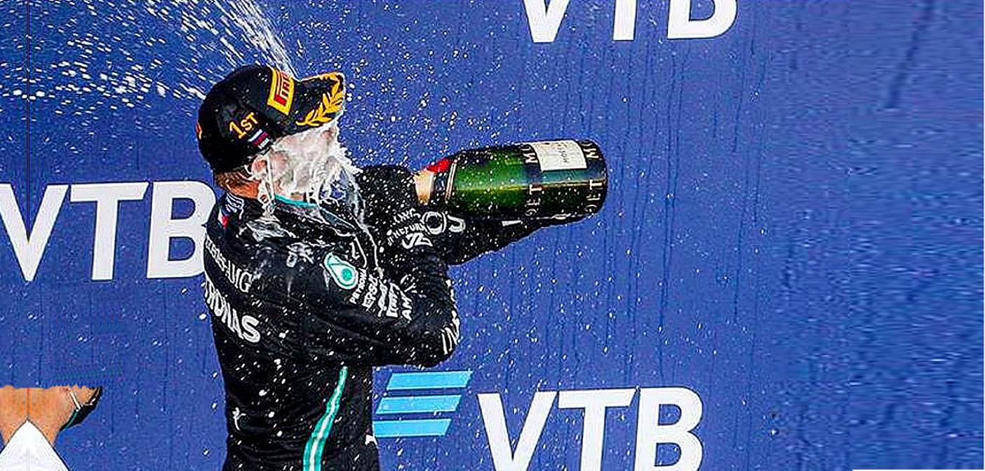 2020 F1 Russian Grand Prix report.
