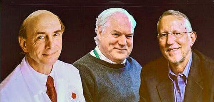 Nobel Prize in Medicine Awarded to three scientists.