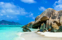 Lockdown in paradise, how the Seychelles is reopening to visitors. After a mandatory five days confined to her luxury resort, Emma Thomson has the run of this idyllic Indian Ocean archipelago. Anse Source d'Argent beach on La Digue Alamy, 2020.
