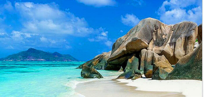 Lockdown in paradise at Seychelles.