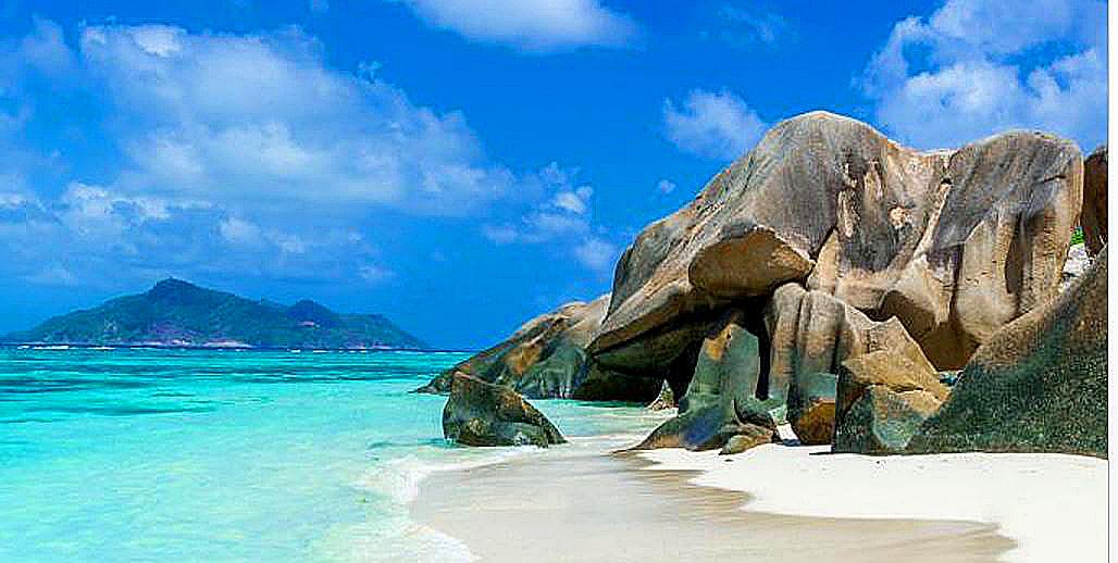 Lockdown in paradise at Seychelles.