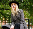 The best on the High Street.Herringbone belted coat, £99; marksandspencer.com. Trousers and boots, Jane's own. Hat, Maison Michel - matchesfashion.com / Image Credit: Danika Magdelena, 2020.