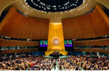 Is Trump's war on Globalism, the end of Multilateralism? United Nations General Assembly at UN headquarters in New York, on September 24th, 2018. Image Credit: Richard Drew & AP Associated press, 2018.