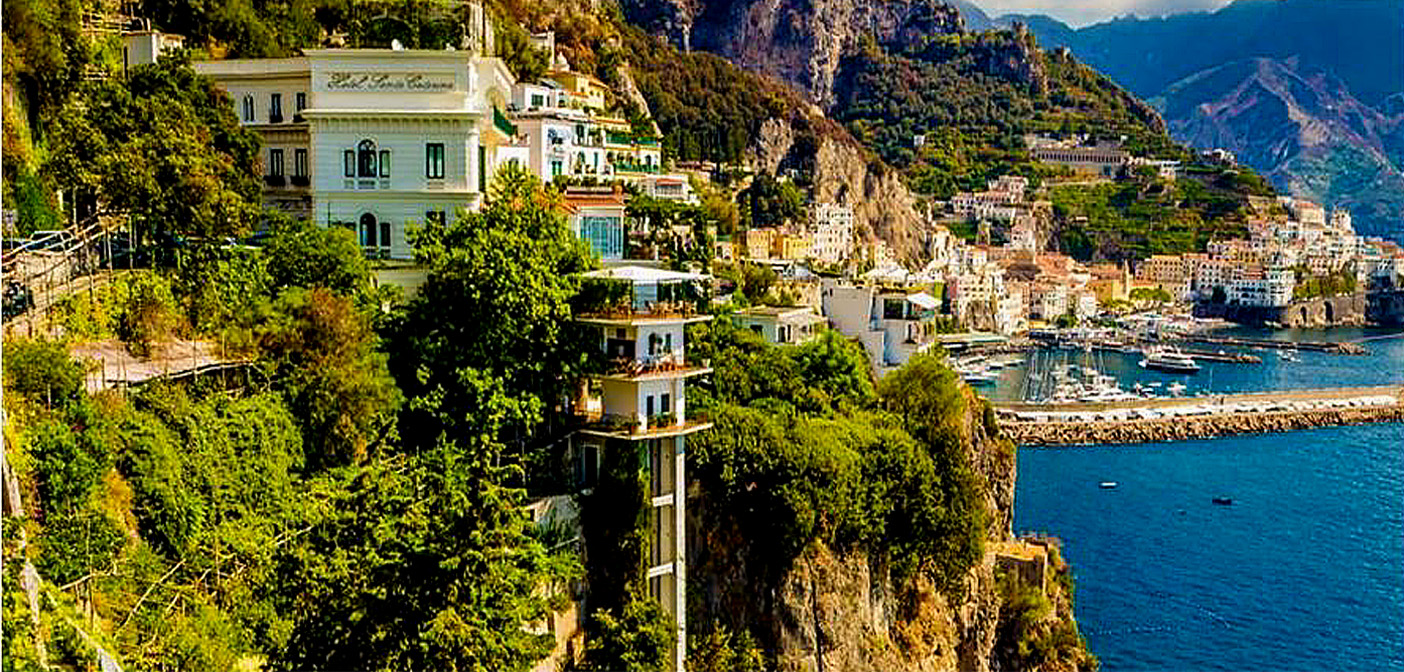 The Amalfi coast without the crowds.