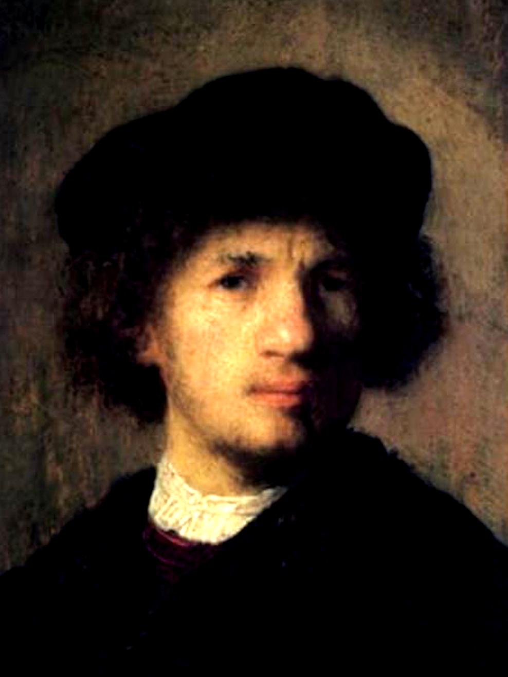 Rembrandt self-portrait. Image Credit: EPA, 2019.