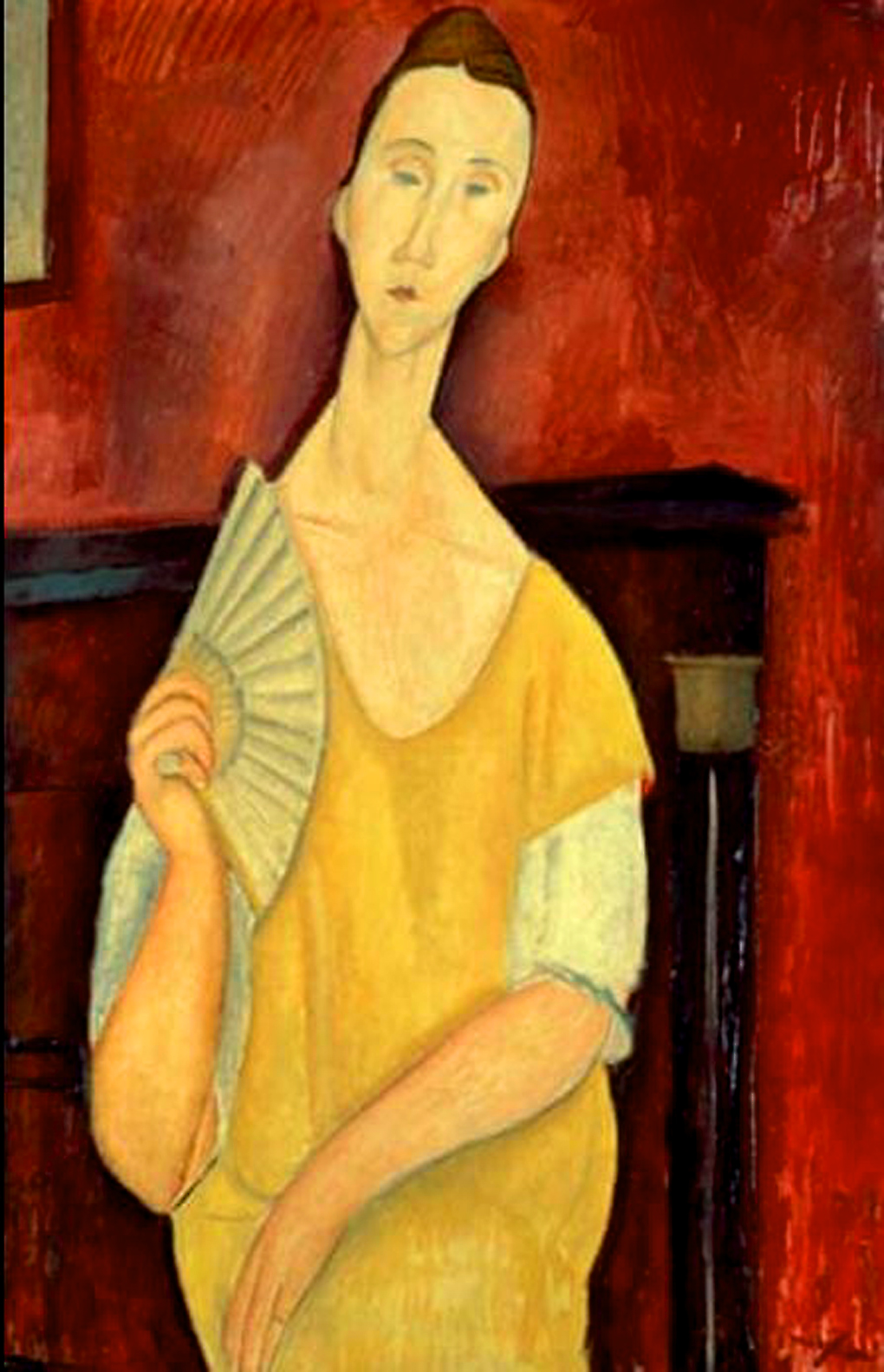 Modigliani's Woman With a Fan. Image Credit: Alto Vintage Images /Alamy, 2019.