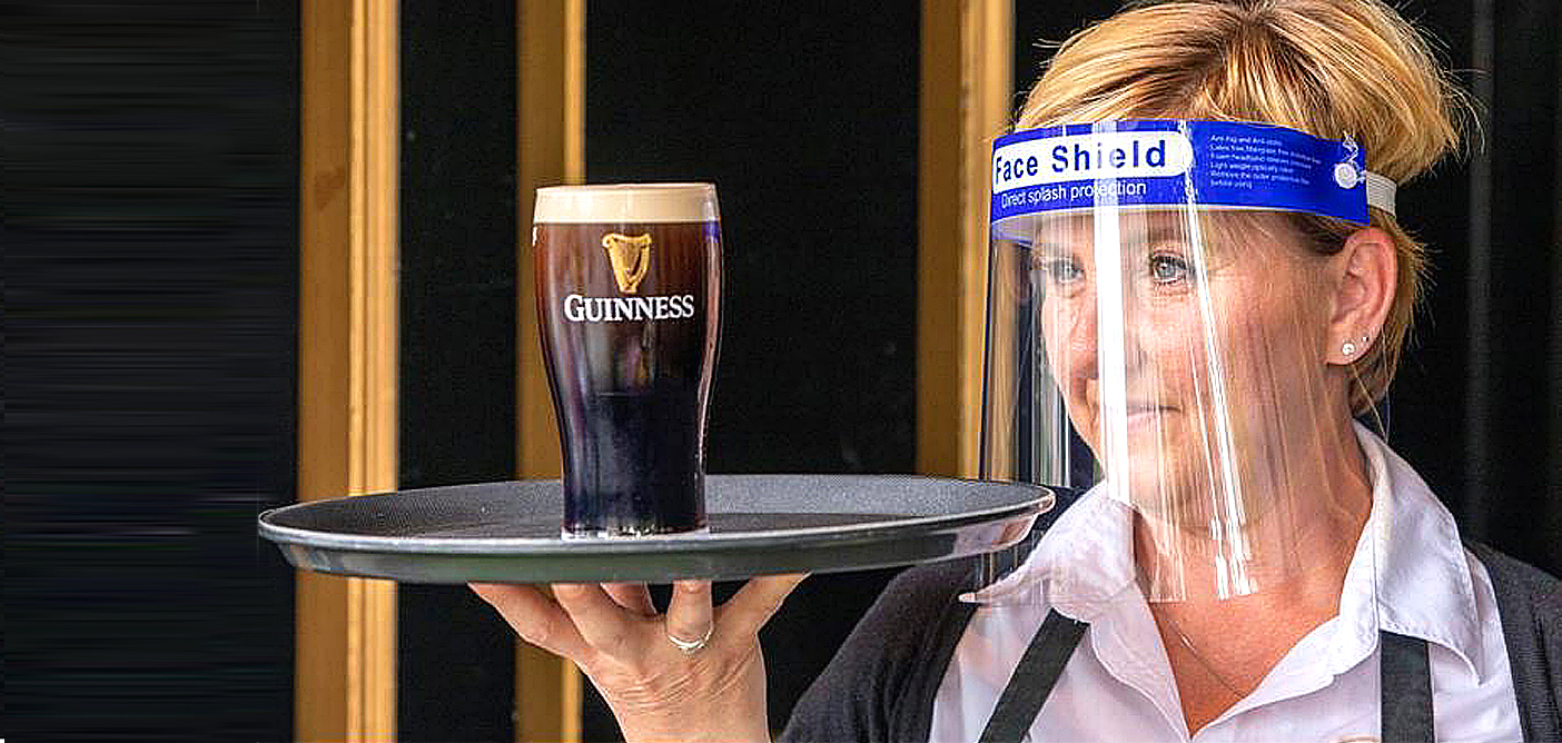 Diageo withdraws alcohol-free Guinness 'as a precaution'. Guinness 0.0 was launched three weeks ago in cans but the plan was to sell it on draught like the original from next spring. Image Credit: Paul Faith / AFP / Getty Images, 2020.