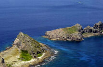 US troops ready to take on China over disputed Senkaku Islands. China claims the Senkaku Islands as the Diaoyu . Image Credit: Getty Images, 2020.