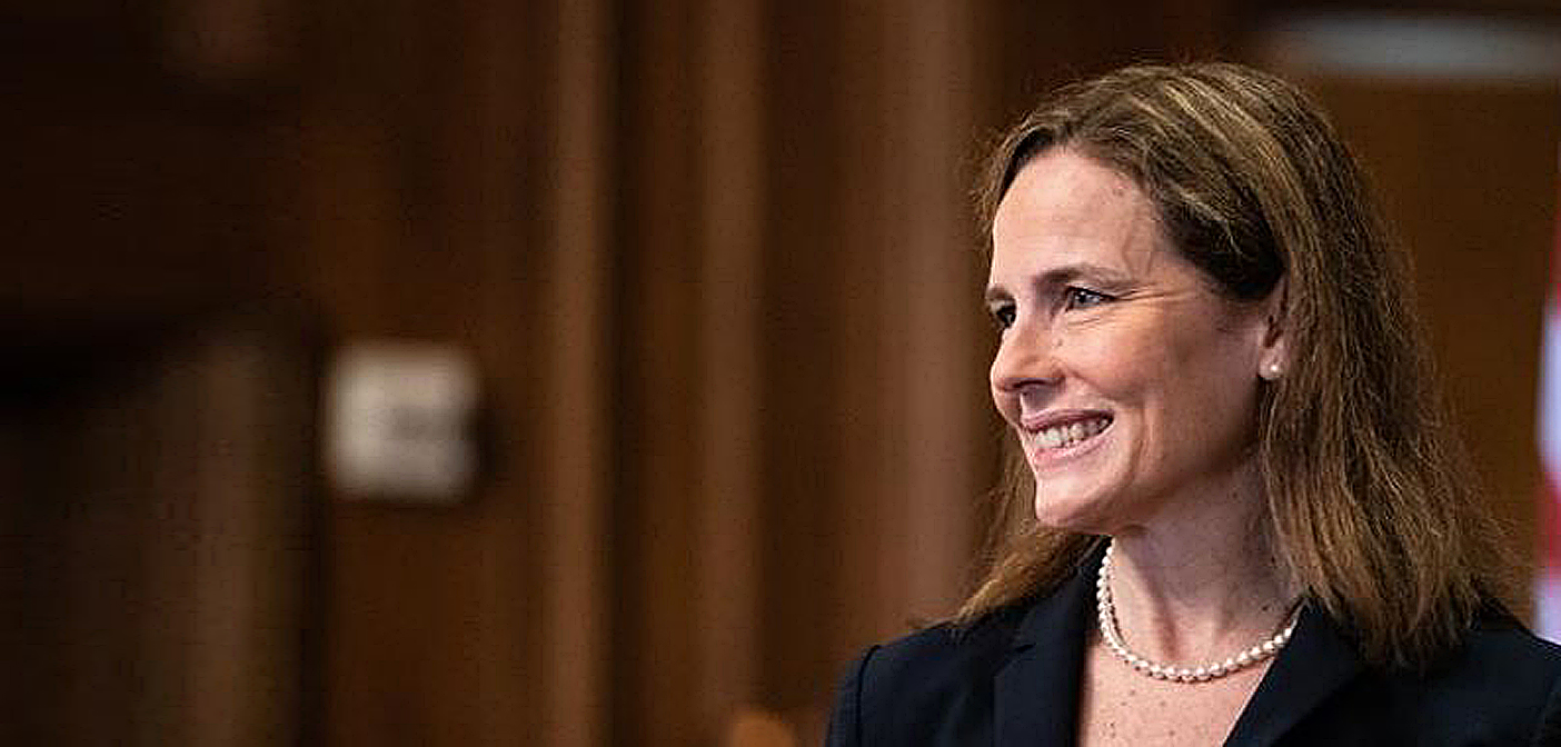 Amy Coney Barrett confirmed to Supreme Court.