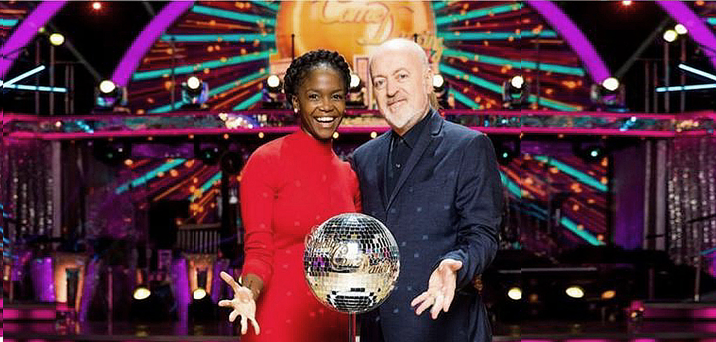 Bill Bailey's Strictly Diary wins Glitterball Trophy.