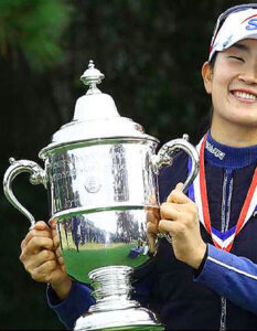 A-Lim Kim mounts incredible comeback to win the US Women's Open and clinch her first major.. Image Credit: Jamie Squire / Getty Images North America.