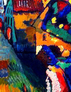 Vow to return art stolen by Nazis. There are questions about how 'Painting with Houses' by Wassily Kandinsky, came into the possession of Amsterdam´s Stedelijk Museum. Image Credit: Universal History Archive, 2020.