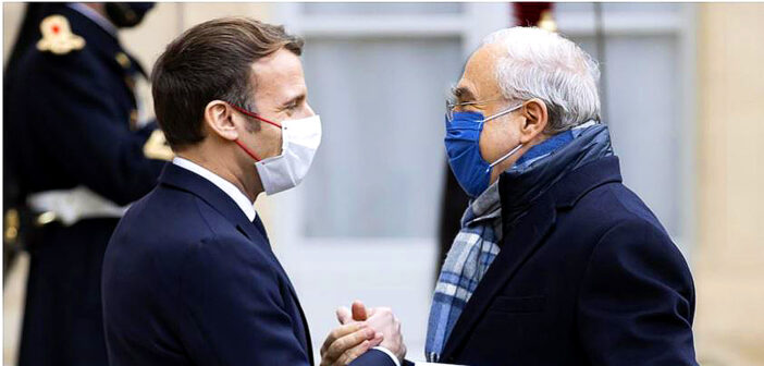 Macron has fallen ill, with Covid-19.