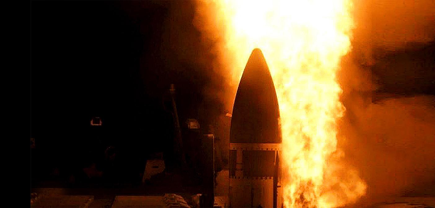 US success in test destruction of missile.