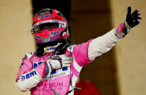 Sergio Perez takes sensational maiden win in Sakhir GP as tyre issues ruin Russell's charge. Image Credit: www.F1.com, 2020.