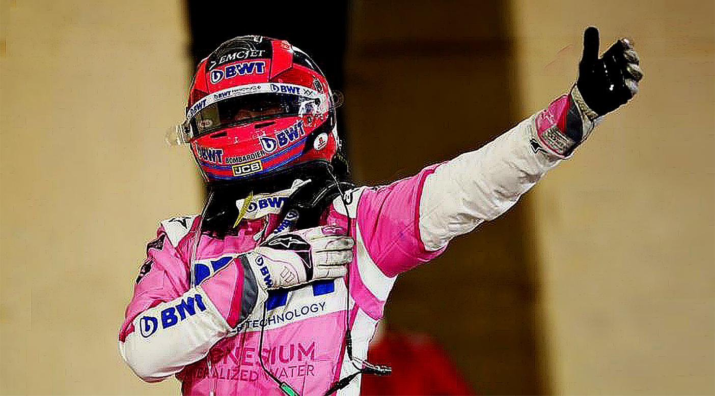 Sergio Perez takes win in F1 Sakhir GP.