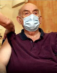 First patients get Oxford-AstraZeneca vaccine. An 82-year-old retired maintenance manager became the first person to be given the new Oxford coronavirus vaccine this morning. Image Credit: Alamy, 2021.