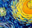 The sound of color, music inspired by Visual Art. Visual art has inspired songs from many different musical genres from classical to heavy metal, from opera to old crooners, from musicals to hip hop. Photo: 'Starry night' by Vincent Van Gogh, 1889. Image Credit: Courtesy by MOMA museum of Modern Art, NY; 2021.