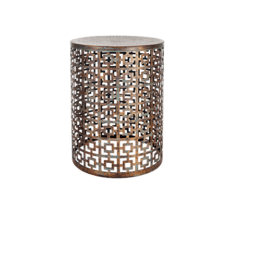 Stool Morrocan Brown