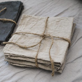Wholesale Natural Linen Table Napkins