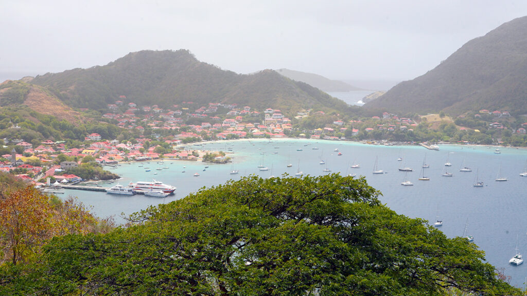 Les Saintes Bay in the Guadeloupe Islands